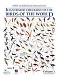 Josep Del Hoyo et Nigel Collar - Illustrated Checklist of the Birds of the World : Non-Passerines - Volume 1, Non-passerines.