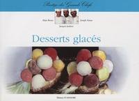 Joseph Aimar et Alain Berne - Desserts glacés.