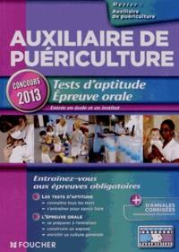 Joseph Autori et Valérie Béal - Auxiliaire de puériculture - Tests d'aptitude épreuve orale.