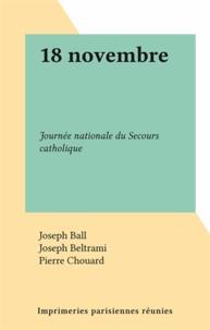 Joseph Ball et Joseph Beltrami - 18 novembre - Journée nationale du Secours catholique.