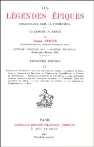 Les légendes épiques - Tome 4, Recherches sur la formation des chansons de geste.pdf