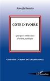 Joseph Bemba - Côte d'Ivoire - Quelques réflexions d'ordre juridique.