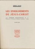 Joseph Bonsirven - Les enseignements de Jésus-Christ.