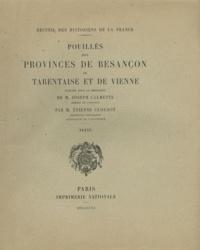 Joseph Calmette et Etienne Clouzot - Pouillés des provinces de Besançon, de Tarentaise et de Vienne - Texte.