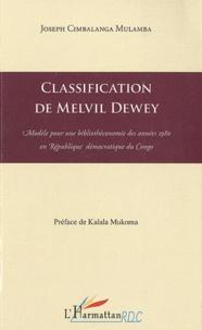 Classification de Melvil Dewey - Modèle pour une bibliothéconomie des années 1980 en République démocratique du Congo.pdf