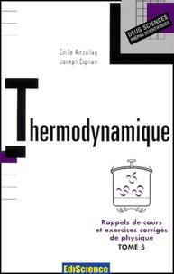 Rappels de cours et exercices corrigés de Physique. Tome 5, Thermodynamique.pdf
