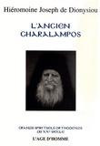 Joseph de Dionysiou - L'Ancien Charalampos - Le maître de la prière mentale.