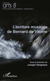 Joseph Delaplace - L'écriture musicale de Bernard de Vienne.