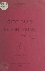 Joseph Dengerma - Croquis de mon village (3).