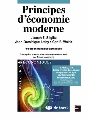 Principes d'économie moderne 4e édition