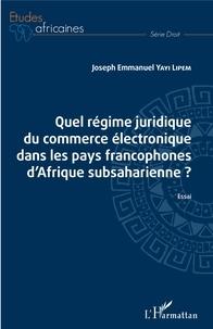 Galabria.be Quel régime juridique du commerce électronique dans les pays francophones d'Afrique subsaharienne ? Image