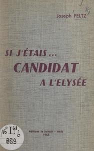 Joseph Feltz - Si j'étais... candidat à l'Élysée.