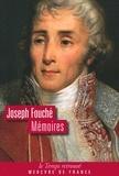 Joseph Fouché - Mémoires.