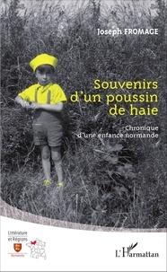 Joseph Fromage - Souvenirs d'un poussin de haie - Chronique d'une enfance normande.