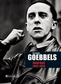Joseph Goebbels - Journal 1923-1933.