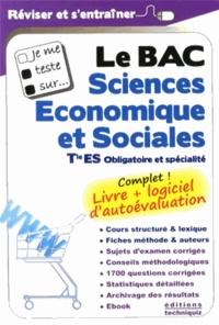 Joseph Hadjian et David Hénaux - Le Bac Sciences économiques et sociales Tle ES obligatoire et spécialité.