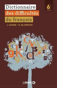 Joseph Hanse et Daniel Blampain - Dictionnaire des difficultés du français.