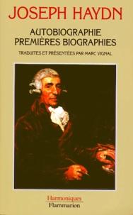 Joseph Haydn et Marc Vignal - Autobiographie.
