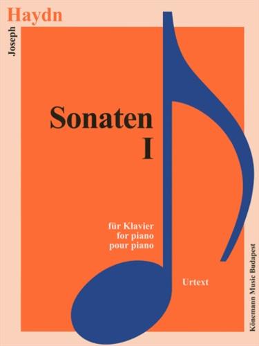 Joseph Haydn - Haydn - Sonate I pour piano - Partition.