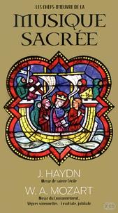 Joseph Haydn et Wolfgang Amadeus Mozart - Messe de sainte Cécile ; Messe du Couronnement, Vêpres solennelles - Exsultate, jubilate. 2 CD audio
