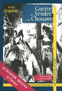 Joseph Lequinio - Guerre de la Vendée et des Chouans.
