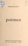 Joseph Majault - Poèmes.