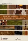 Joseph Martial Ribeiro - Gestion des projets de développement international.