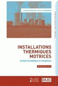 Installations thermiques motrices - Analyse énergétique et exergétique.pdf