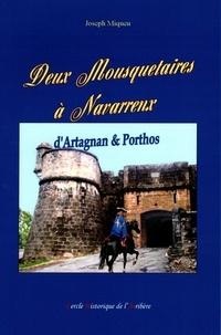 Joseph Miqueu - Deux Mousquetaires à Navarrenx - D'Artagnan & Porthos.