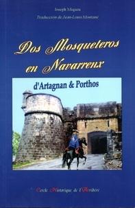 Joseph Miqueu - Dos Mosqueteros en Navarrenx - D'Artagnan & Porthos.