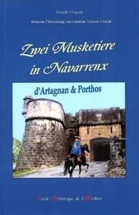 Joseph Miqueu - Zwei Musketiere in Navarrenx - D'Artagnan & Porthos.