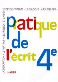 Accentsonline.fr FRANCAIS 4EME PRATIQUE DE L'ECRIT Image