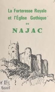 Joseph Naudan et Pierre Puvis de Chavannes - La forteresse royale et l'église gothique de Najac.