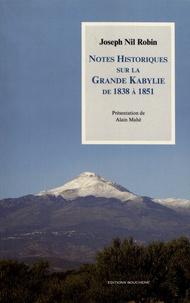 Galabria.be Notes historiques sur la Grande Kabylie de 1838 à 1851 Image