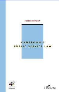 Joseph Owona - Cameroon's public service law.