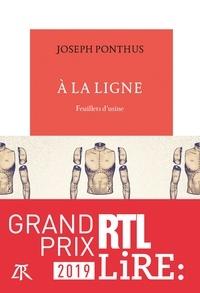 Joseph Ponthus - A la ligne - Feuillets d'usine.