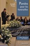 Joseph Proux - Paroles pour les funérailles - Mon libérateur est vivant.