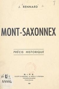 Joseph Rennard - Mont-Saxonnex - Précis historique.