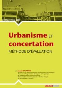 Joseph Salamon - Urbanisme et concertation - Méthode d'évaluation.