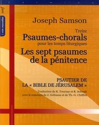 Treize psaumes-chorals pour les temps liturgiques - Suivi par Les sept psaumes de la pénitence.pdf