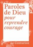 Joseph Stricher - Paroles de Dieu pour reprendre courage.