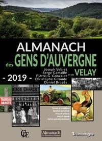 Joseph Vebret et Serge Camaille - Almanach des gens d'Auvergne et du Velay.