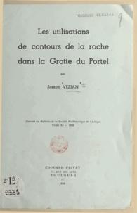 Joseph Vézian - Les utilisations de contours de la roche dans la grotte du Portel.