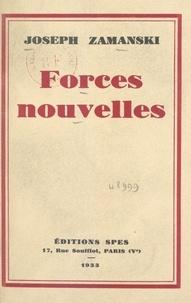 Joseph Zamanski - Forces nouvelles.