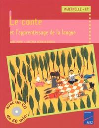Le conte et lapprentissage de la langue Maternelle/CP..pdf