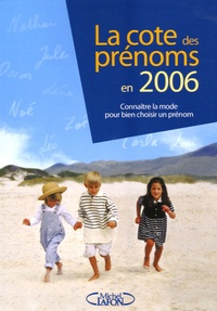 Histoiresdenlire.be La cote des prénoms en 2006 Image