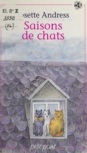 Josette Andress et Nicole Vimard - Saisons de chats.