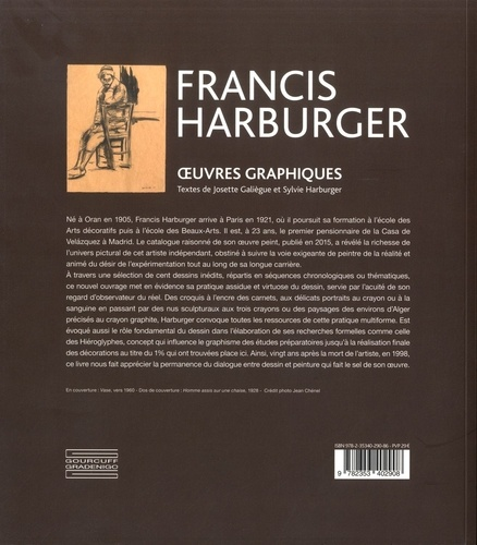 Francis Harburger (1905-1998). Oeuvres graphiques