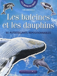 Josette Gontier - Les baleines et les dauphins - 65 Autocollants repositionnables.