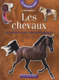 Josette Gontier - Les chevaux - 65 Autocollants repositionnables.